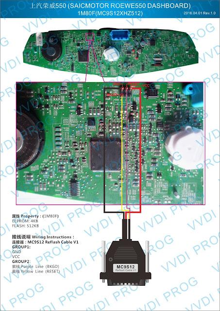 SAICMOTOR ROEWE 550 DASHBOARD 1M80F