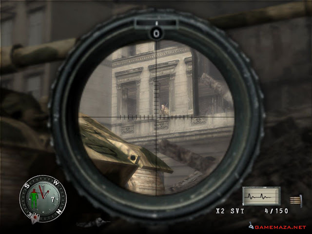 Sniper Elite Gameplay Screenshot 2