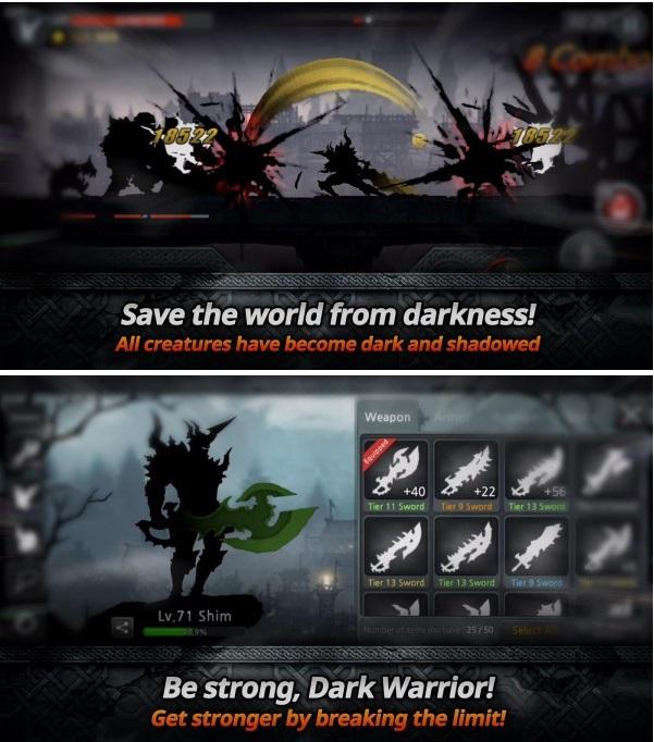 Dark Sword v1.4.2 Apk Mod (Souls/Stamina)