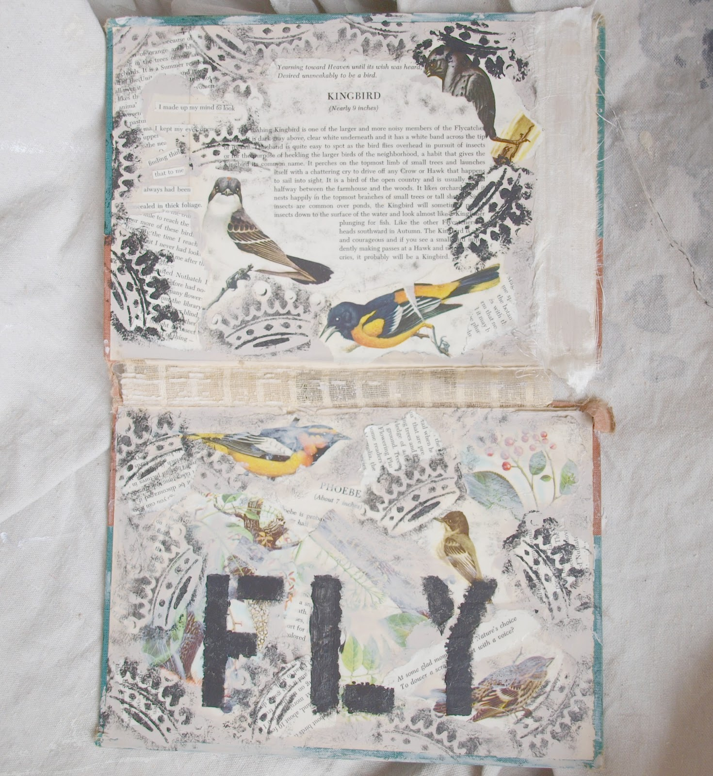 My Art: Mixed Media Collages