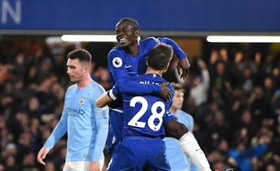 Highlight Chelsea 2-0 Manchester City, 8 Desember 2018