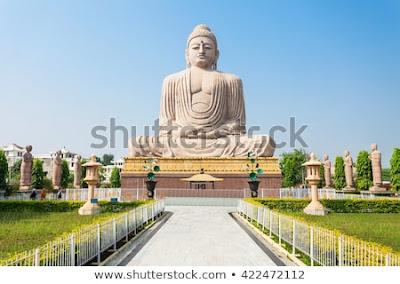great buddha statue at Mahabodhi Temple