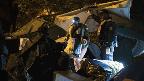 Illegális bevándorlás - Felszámolták az utolsó sátortábort Párizsban