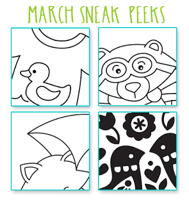 March 2017 Release Sneak Peeks | Newton's Nook Designs #newtonsnook
