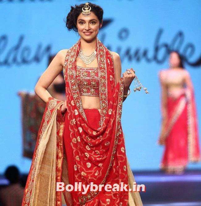 Divya Khosla, Beautiful Bhagyashree, Gauhar, Tara, Perizad, Divya at Cancer Fundraiser Fashion Show