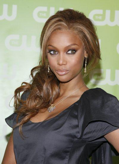 Fabulous Tyra Banks Different Hairstyles Angled Bob Hairstyle Short Hairstyles Gunalazisus