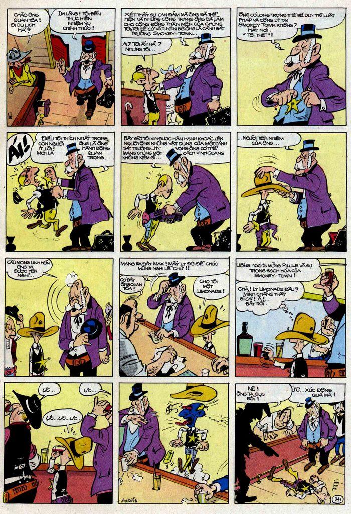 Lucky Luke tập 25 - nhện chân dài trang 41