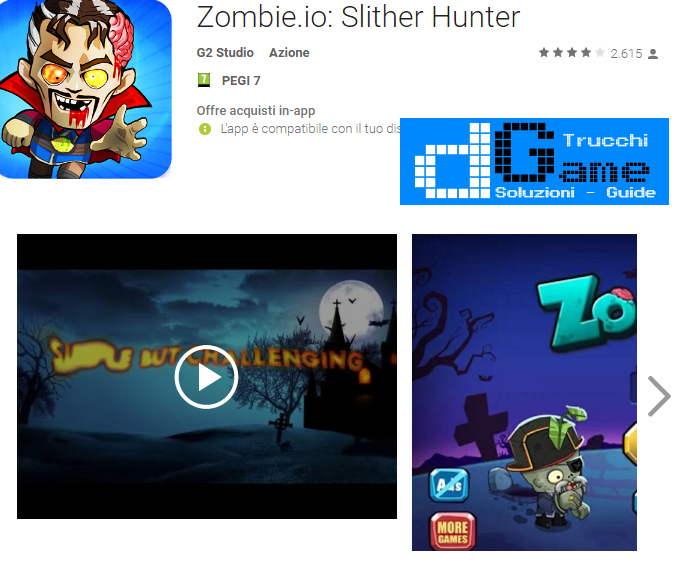 Trucchi Zombie.io: Slither Hunter Mod Apk Android v2.3
