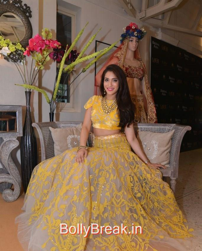 Rashmi Nigam, Anchal, Evelyn, Arpita at Bridal Asia Show Media Preview