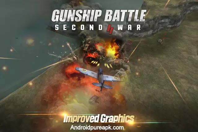 GUNSHIP BATTLE SECOND WAR Mod Apk