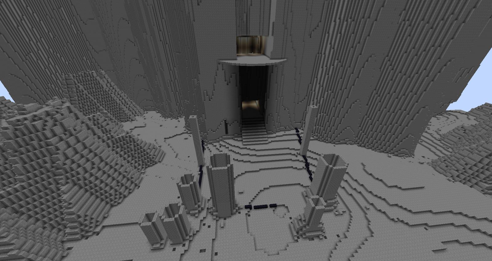 Minecraft Menzoberranzan - City of the Blocky-Drow