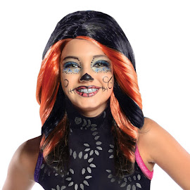 Monster High Rubie's Skelita Calaveras Wig Child Costume