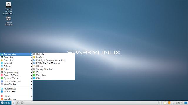 Lançado o GNU/Linux SparkyLinux 4.4! Faça o download!