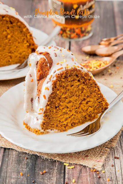 My Pumpkin Bundt Cake is soft, sweet and spicy. Filled with a whole ...