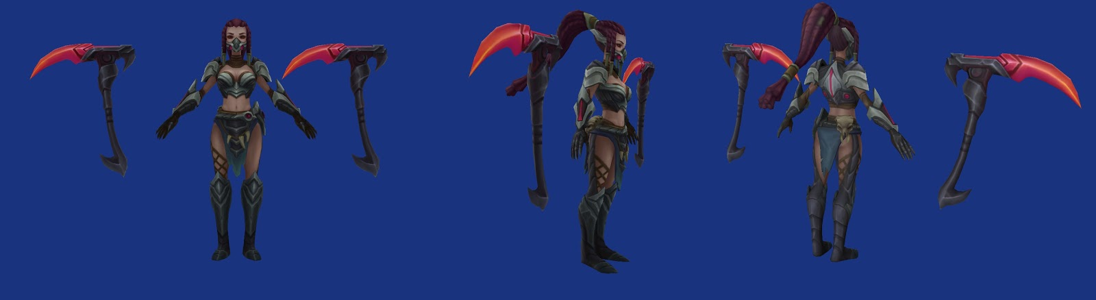 Material for the back of Headhunter Akali armor? - Cosplay - how to find a head hunter