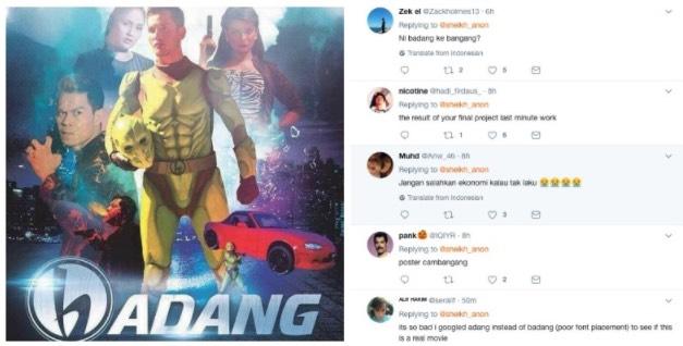 """Ini Badang Ke Bangang?"" - Kecewa Dengan Poster Filem Aliff Syukri, Netizen Sumbang Idea Poster Yang Lebih Badass"