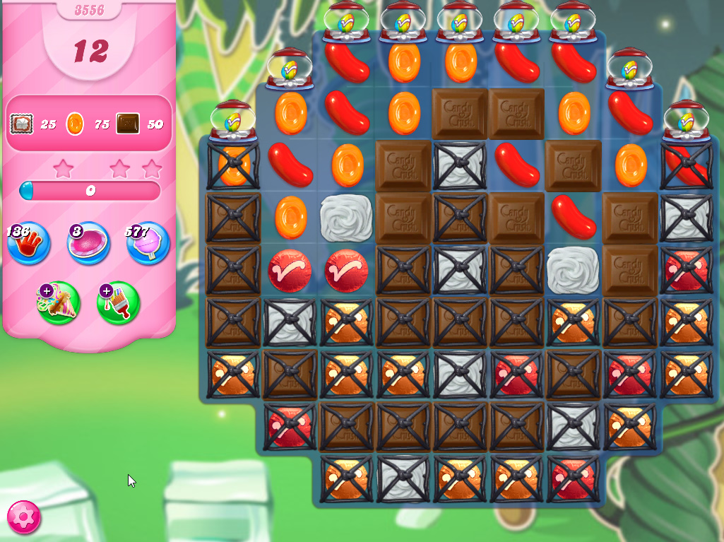 Candy Crush Saga level 3556