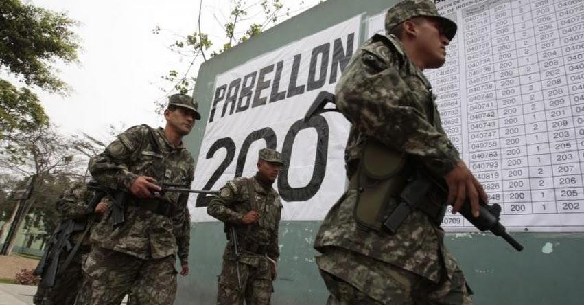 ELECCIONES 2017: Fuerzas Armadas garantizarán orden y seguridad durante elecciones municipales de mañana domingo 10 de diciembre - www.onpe.gob.pe