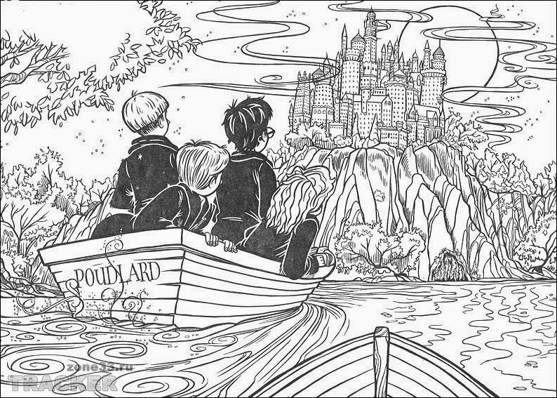 Coloring Pages: Harry Potter Coloring Pages Free and Printable