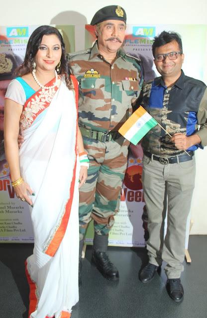 3. Gurpreet Kaur Chadha with Puneet Isaar and Dr. Aneel Murarka