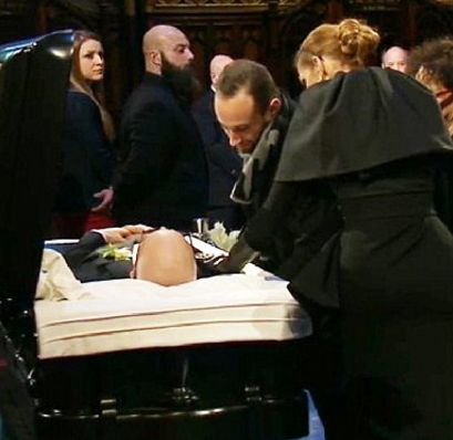 rene angelil burial