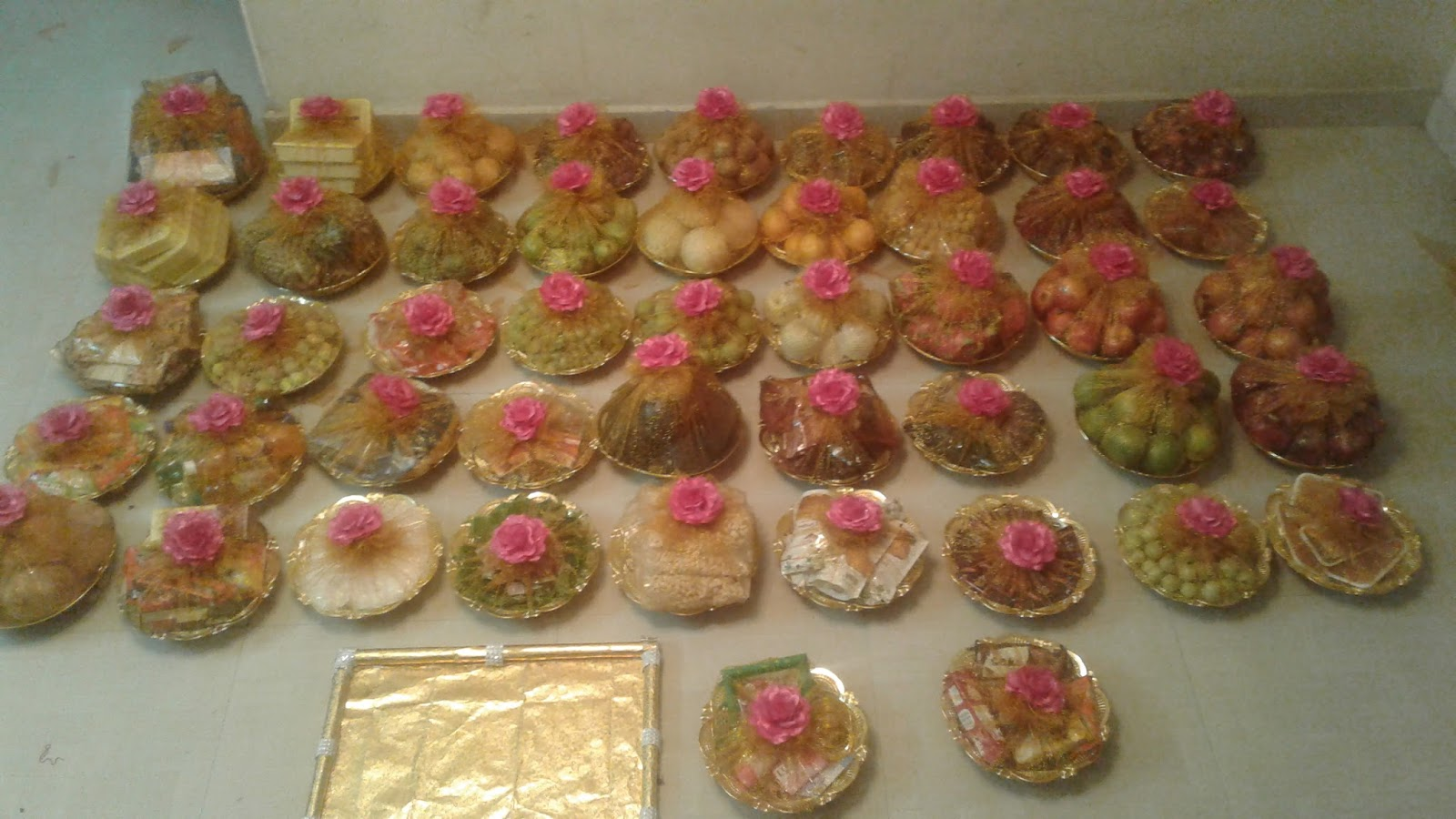 Seer Varisai Plates Thattu Decoration In Chennai Kalyana Seemantham