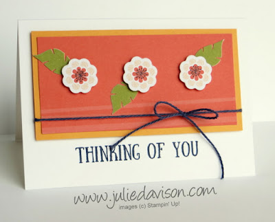 August 2017 Paper Pumpkin Giftable Greetings Alternative Card Idea ~ Stampin' Up! ~ www.juliedavison.com