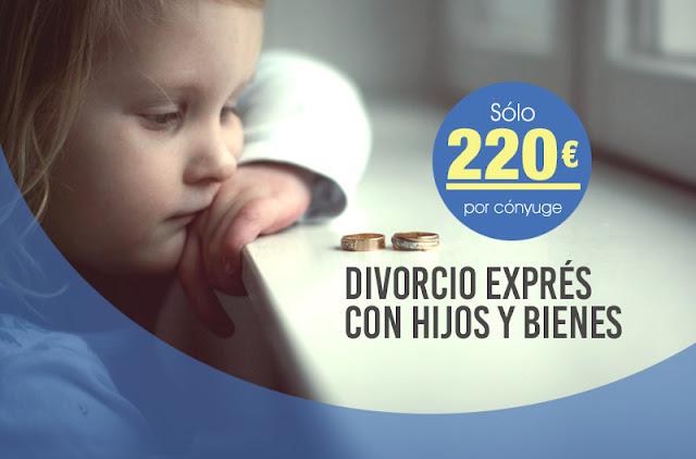 Divorcio exprés con hijos y bienes en Granada