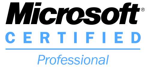 Microsoft Certifed Professional (MCP) Credential Logo