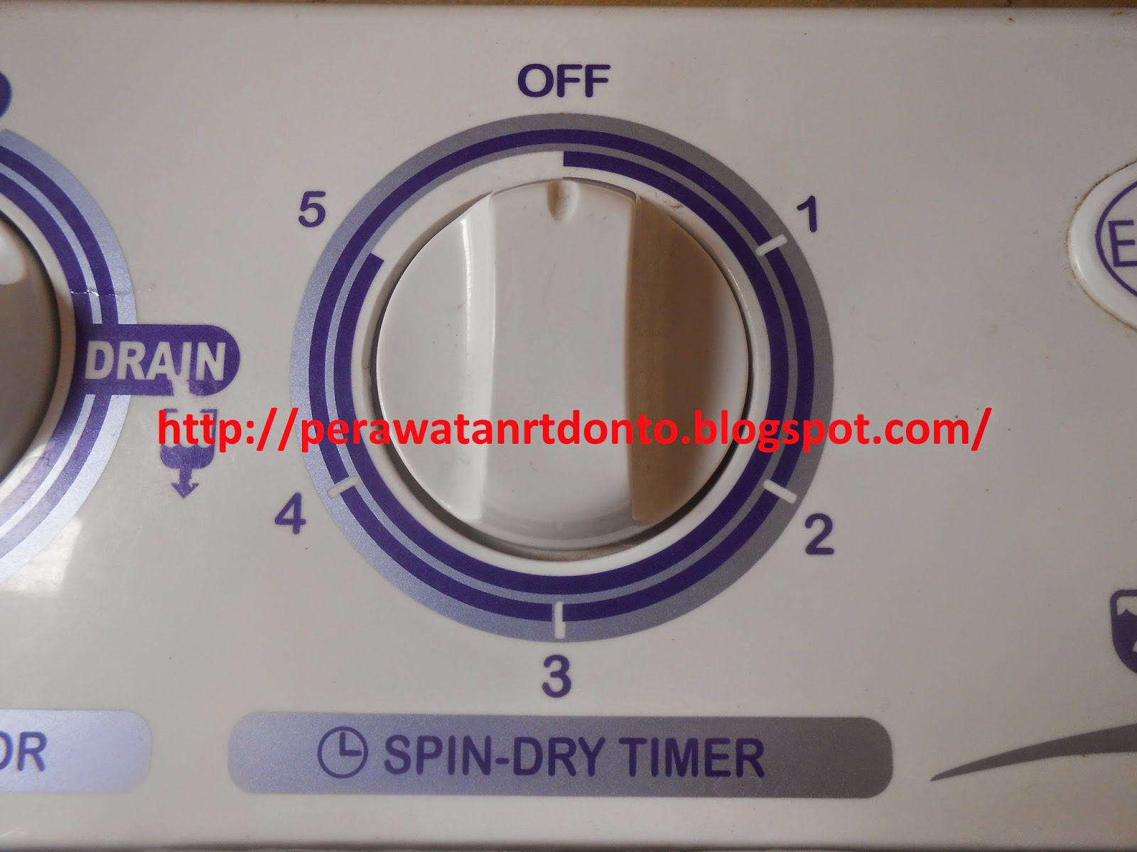 Spin-dry timer