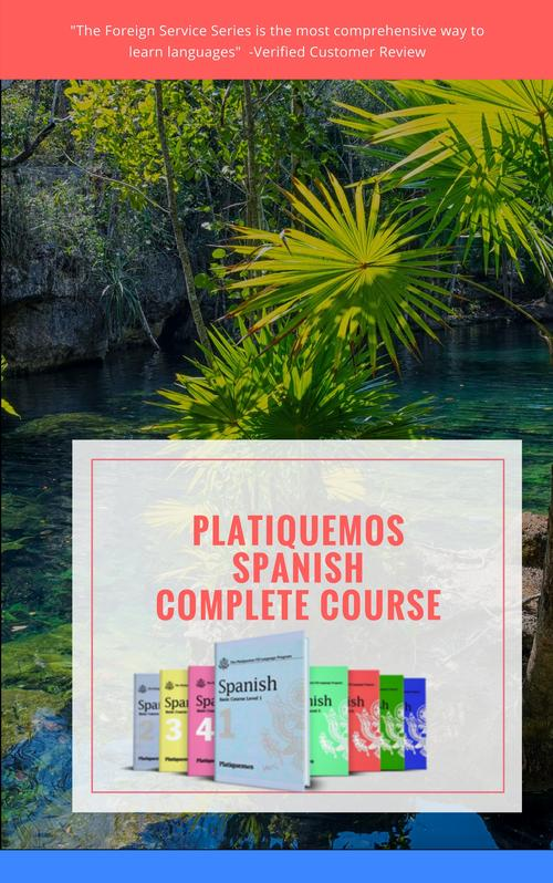 PLATIQUEMOS SPANISH COMPLETE COURSE - ON SALE NOW