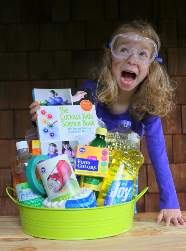 DIY Science Kit Gift for Kids