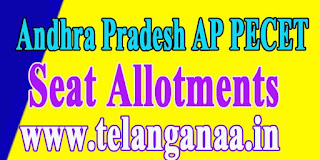 Andhra Pradesh AP PECET APPECET 2017 Seat Allotments
