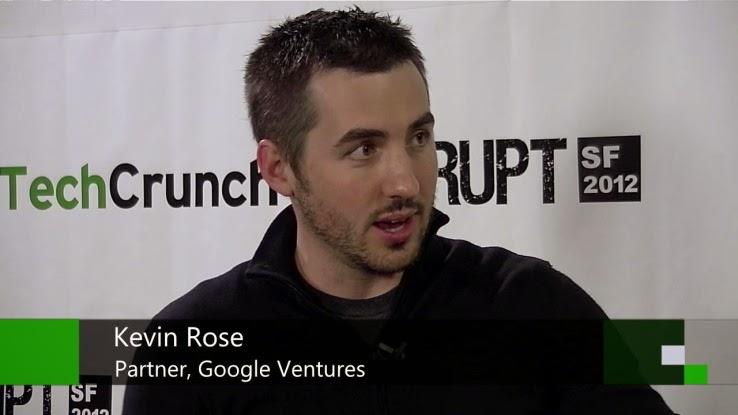 創業家Kevin Rose將離開Google Venture 續逐創業夢