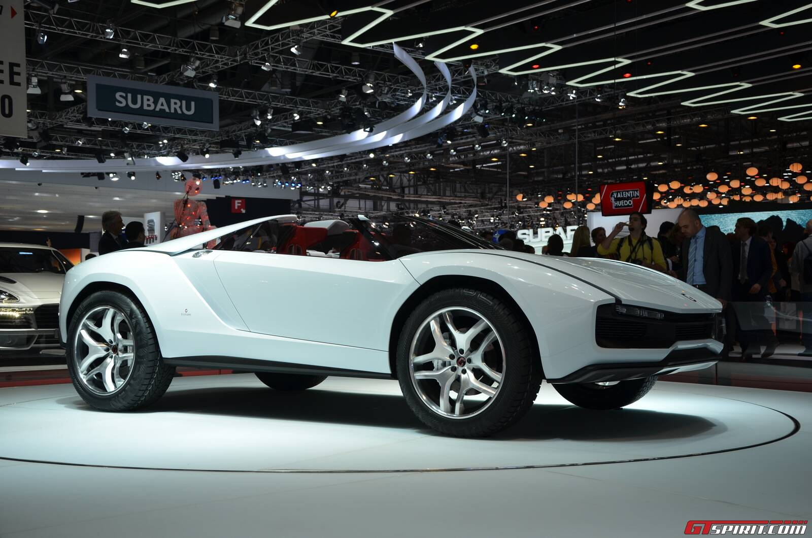Futuristic Muscle Car Concept