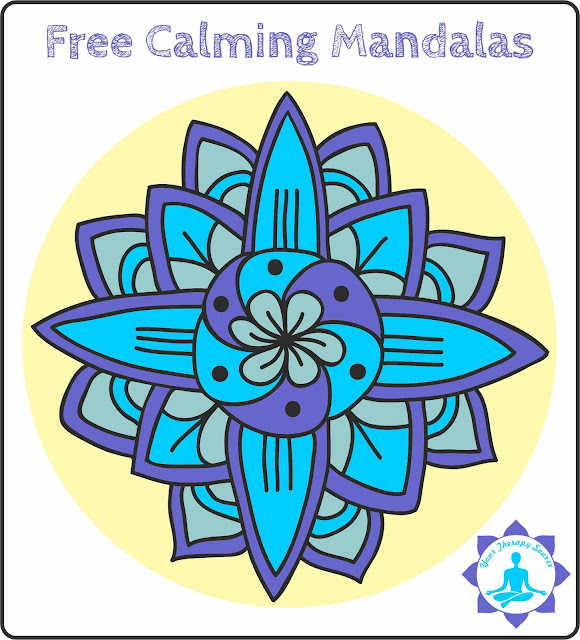 Free Black And White Calming Mandalas To Color Your Therapy Source - Mandalas-en-color