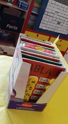 Manualidad para escuela : Las tablas de multiplicar