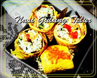 Resep Nasi Gulung Telur Dadar Sederhana Rasa Mantap