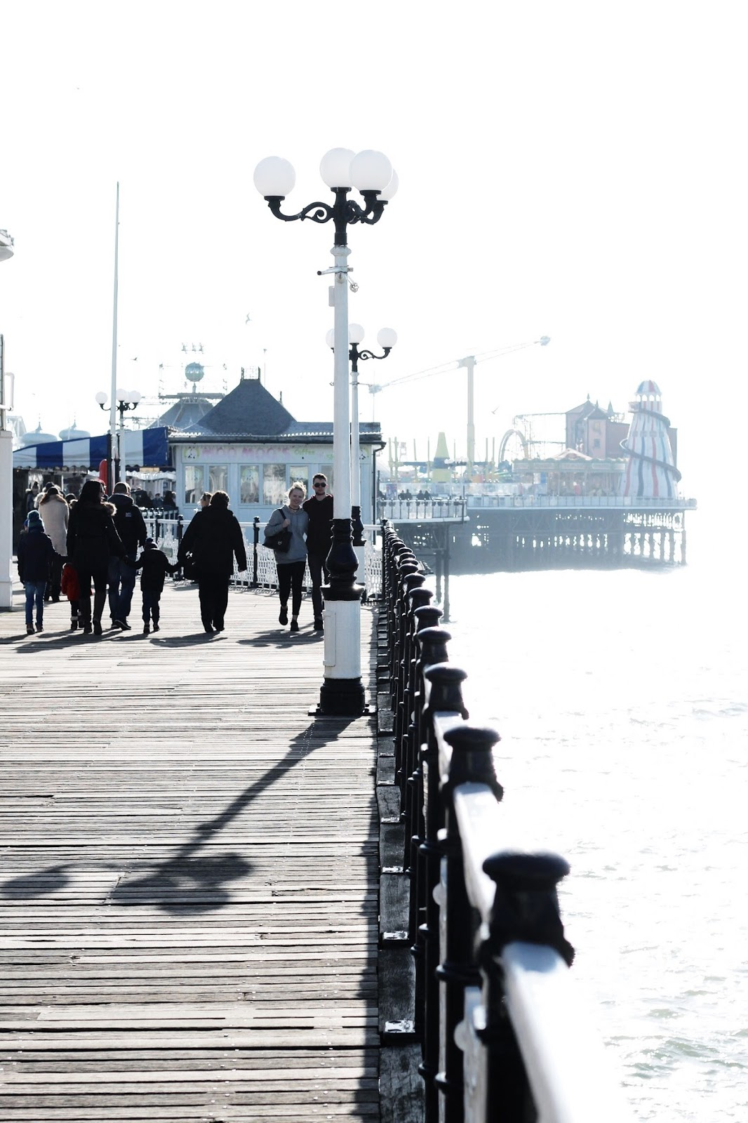 Brighton Pier on a Sunny Winter's Day