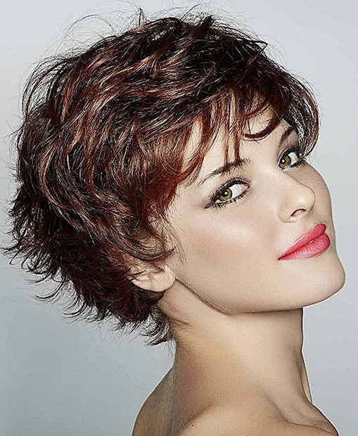 lovely curly short haircuts