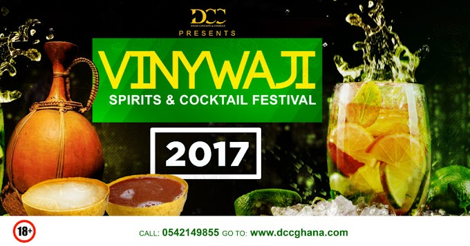 Vinywaji Spirits & Cocktail Festival hits Accra