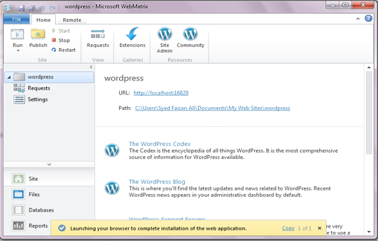 s essential to acquire its functionality hence he tin brand usage of its features pretty effortles How To Install WordPress on Localhost Using Microsoft Web Platform Installer