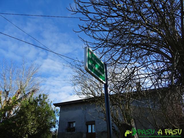 El Camín de la Quintana, Siero