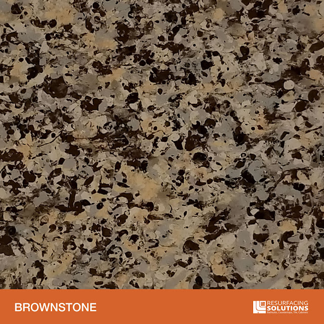 Resurfacing Solutions Knoxville Faux Granite Countertop Color Sample 8