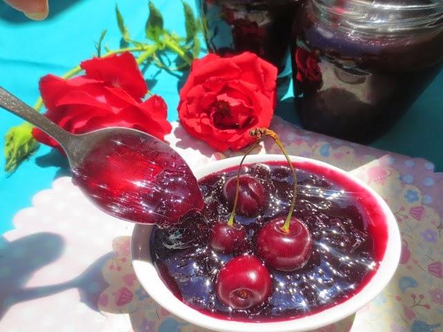 Mermelada de cerezas Ana Sevilla cocina tradicional
