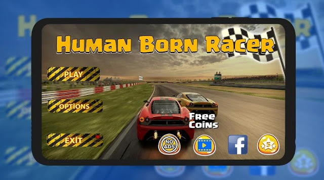 google play Human Born Racer