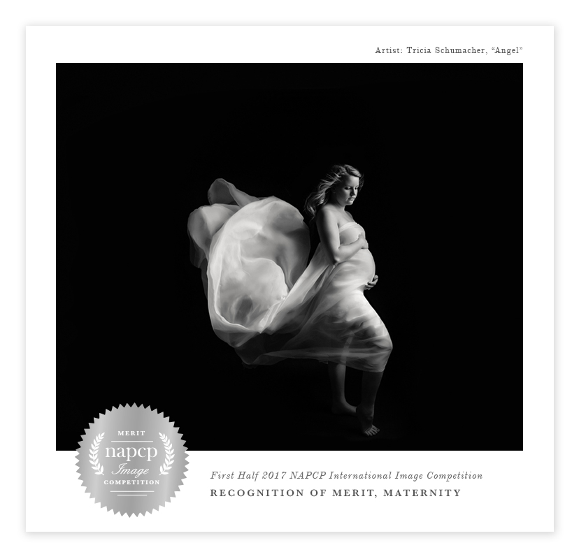 Award winning Black and White Maternity Image belly pictures NAPCP Award winner