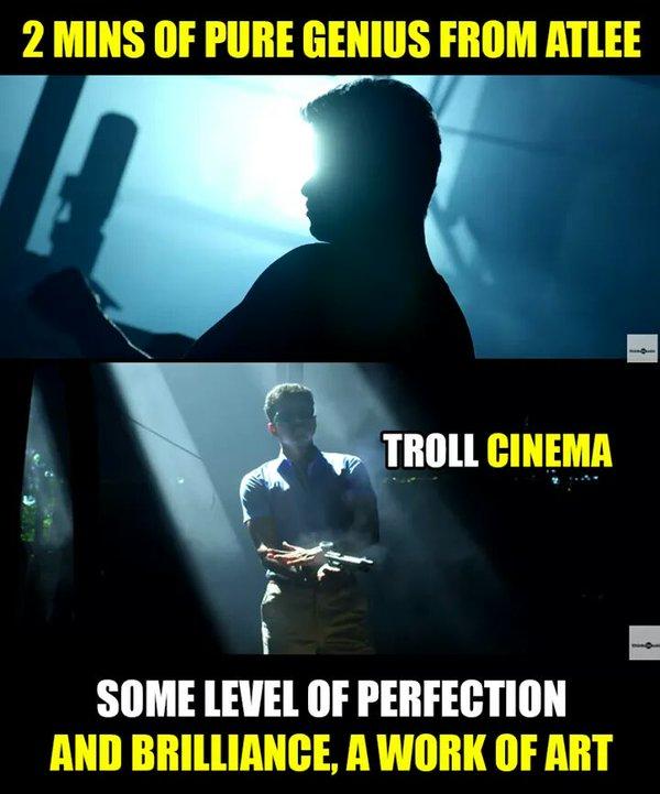 Theri Vijay Trailer Meme, Troll, Celebration And Fans Made
