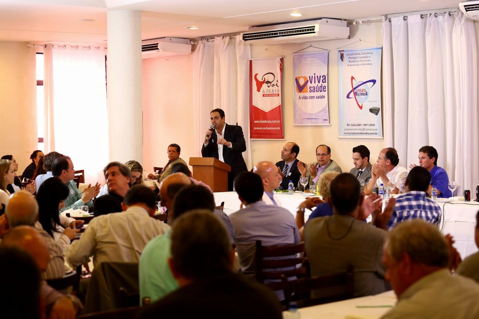 Informativo - Paulo promete ampliar a criação das cadeias produtivasPaulo promete ampliar a criação das cadeias produtivas