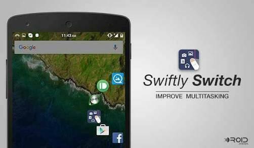 Swiftly Switch İndir - Kontrol Paneli